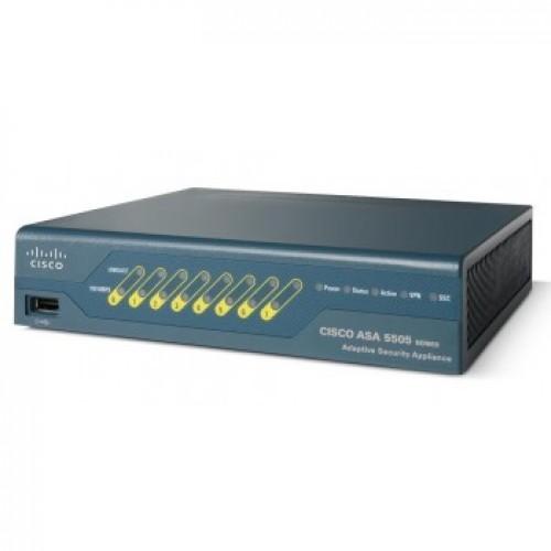 Thiết bị mạng CISCO Firewall ASA5505-SEC-BUN-K9