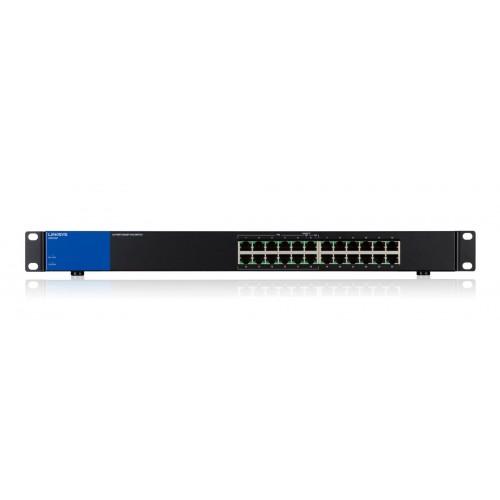 Thiết bị mạng Switch PoE Linksys LGS124P