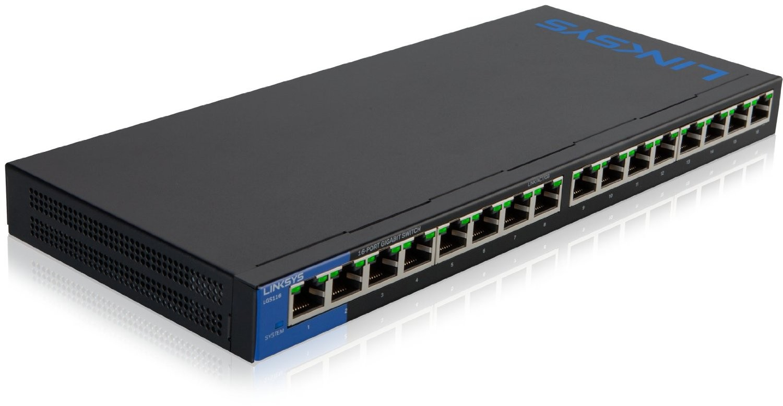 Thiết bị mạng LINKSYS Switch LGS116