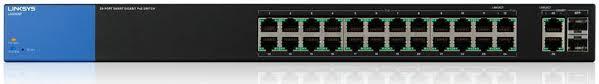 Thiết bị mạng Switch PoE LINKSYS LGS326P