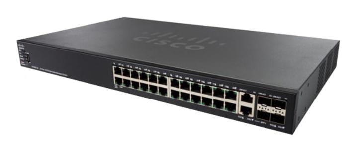 Thiết bị mạng CISCO Switch SF550X-24-K9-EU