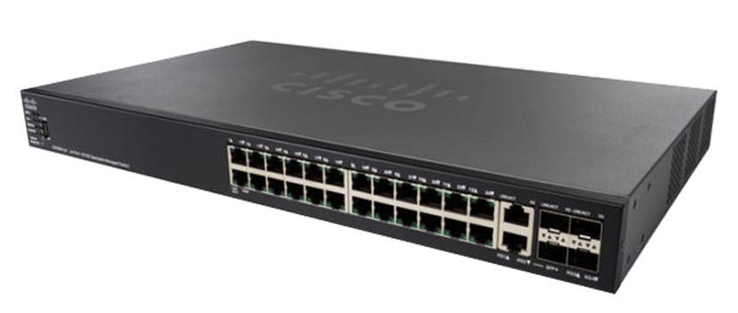 Thiết bị mạng CISCO SG550XG-24F-K9-EU