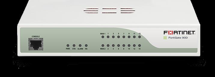 Thiết bị FortiGate firewall FG-90D-BDL