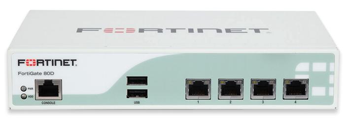 Thiết bị FortiGate Firewall FG-80D-BDL