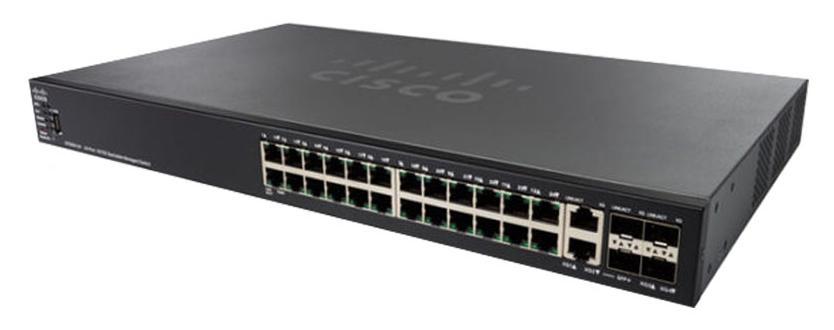 Thiết bị mạng CISCO SG550XG-24T-K9-EU