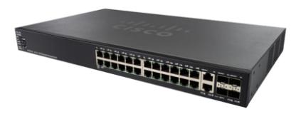 Thiết bị mạng CISCO Switch SG550X-24MP-K9-EU