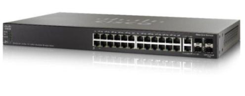 Thiết bị mạng CISCO Switch SG550X-24MPP-K9-EU